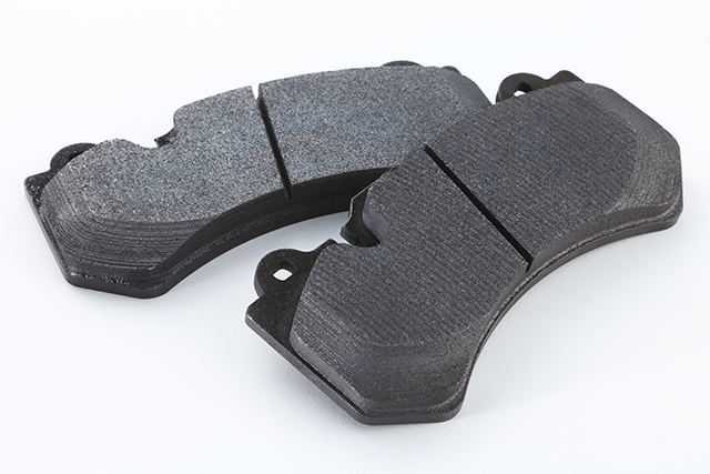 Dedicated front brake pads